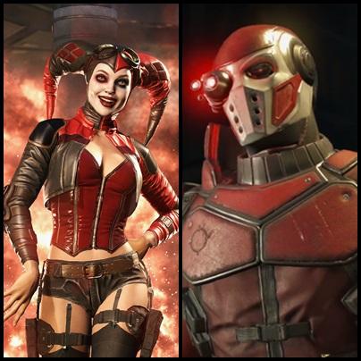 Injustice2 - Harley Quinn e Deadshot