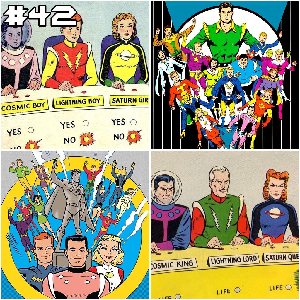 028f0b886 Setor 2814  42 –  Pré Crise  Legião dos Super Heróis Parte 1 – Setor ...